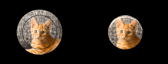 缶バッジデザインと、完成した缶バッジの例、5枚目です。